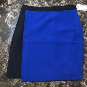 NWT Blue & Black Skirt